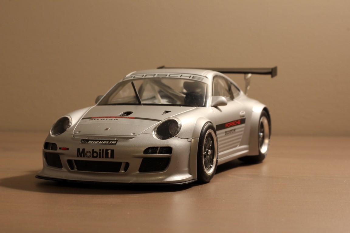 Fujimi Porsche 911 Gt3r 997 Under Glass Model Cars