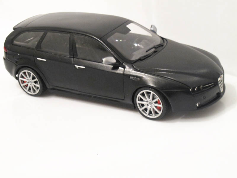 1 18 alfa romeo 159 sw ti diecast and resincast models. Black Bedroom Furniture Sets. Home Design Ideas