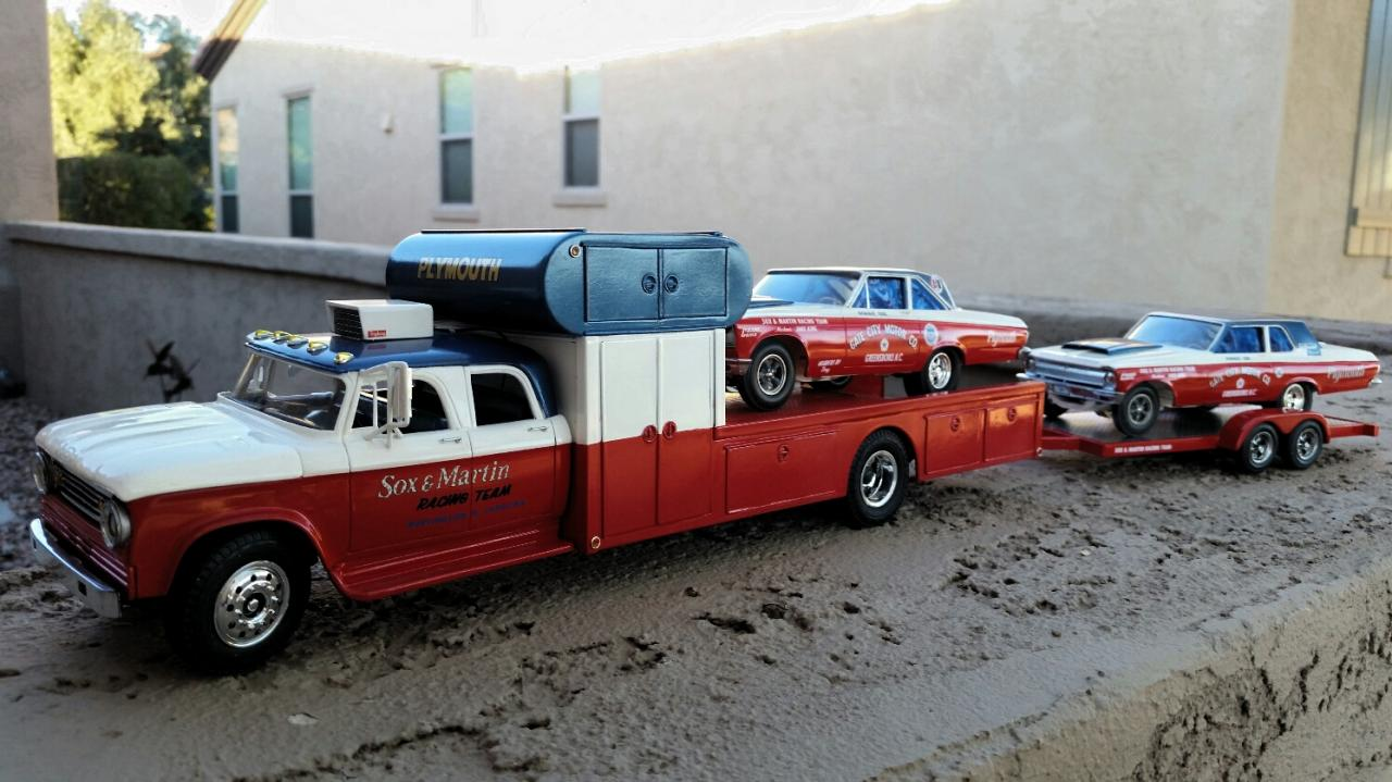 Racecar Haulers The Truck Stop Model Cars Magazine Forum