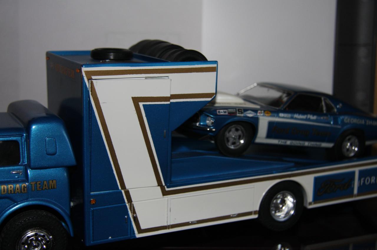 Ford Ln Race Car Hauler