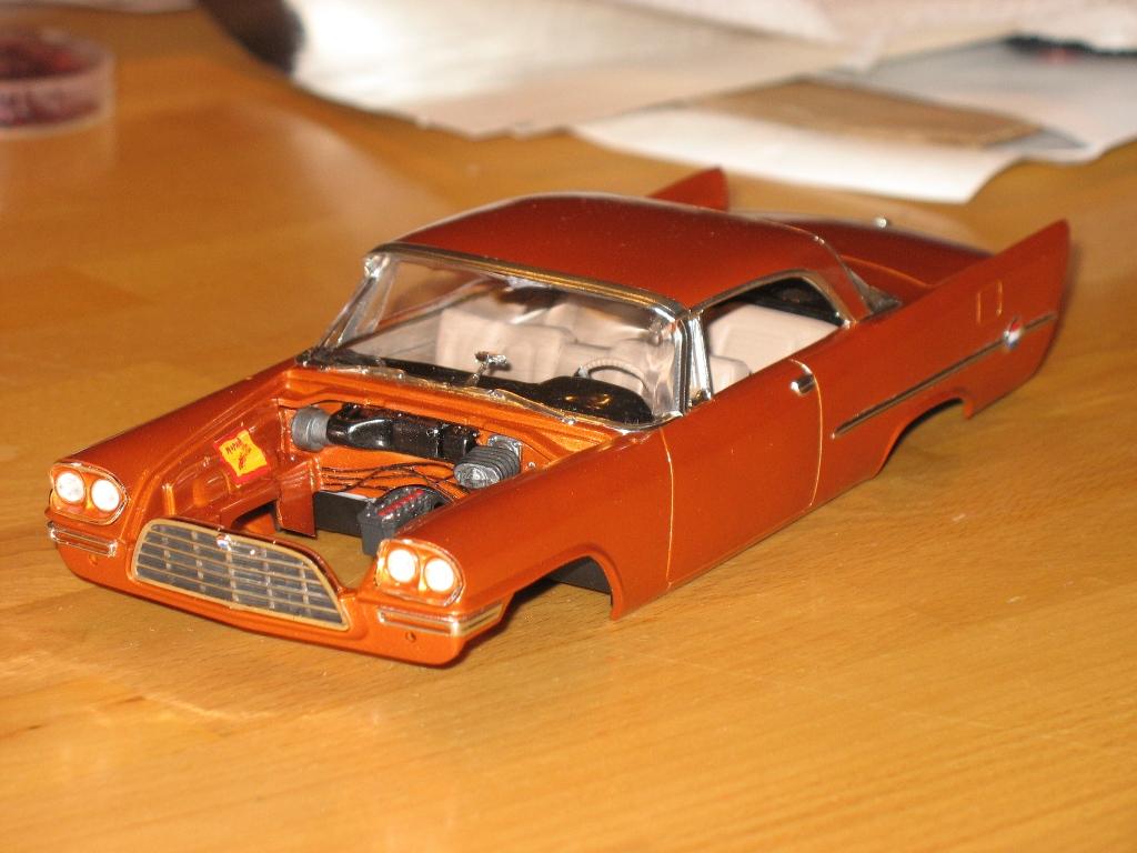 Amt 57 Chrysler 300c On The Workbench Model Cars