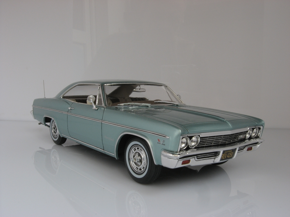 1966 chevy impala ss under glass model cars magazine forum. Black Bedroom Furniture Sets. Home Design Ideas