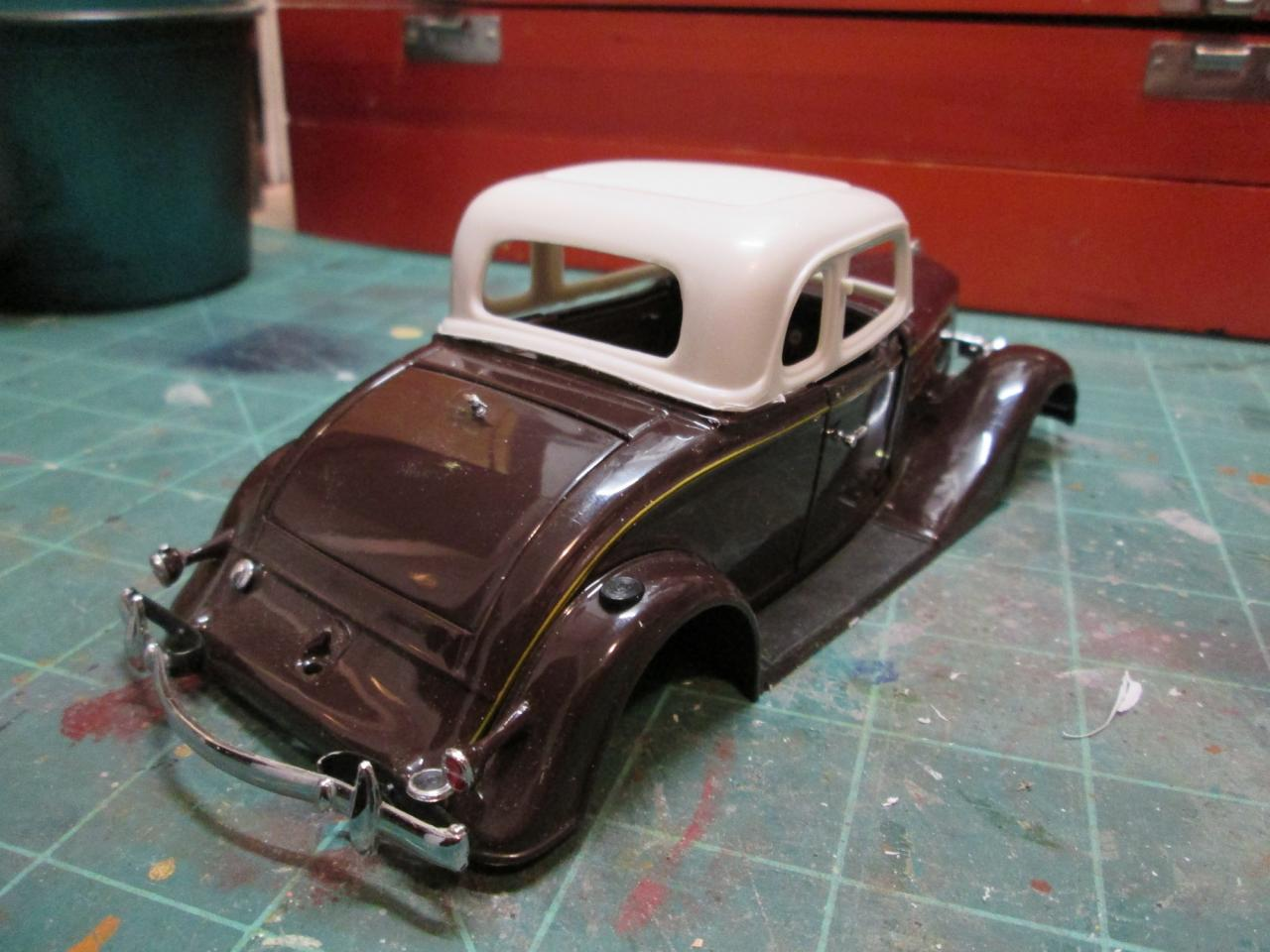 1934 Chevrolet Master 5-Window coupe  - On The Workbench