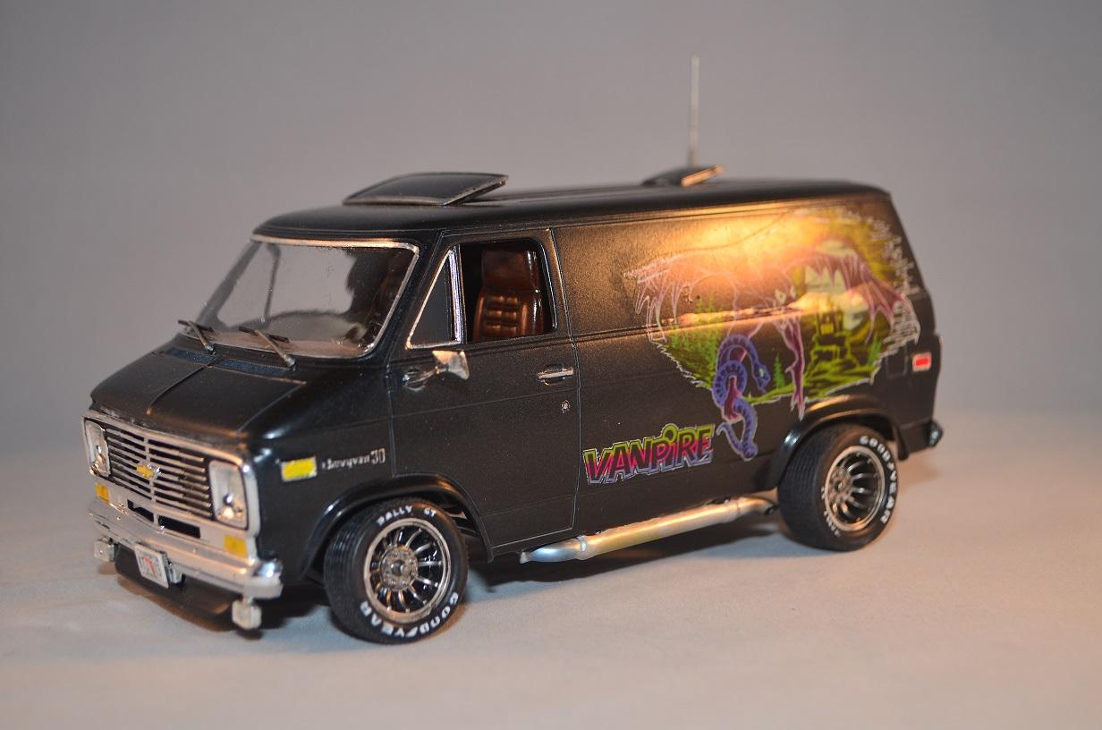 "1977 Chevy Van by Monogram ""Vanpire"" - Under Glass ..."