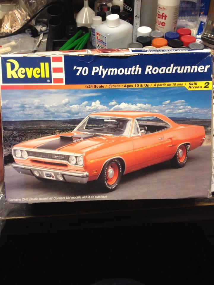 Revell '70 Plymouth Roadrunner - Car Kit News & Reviews
