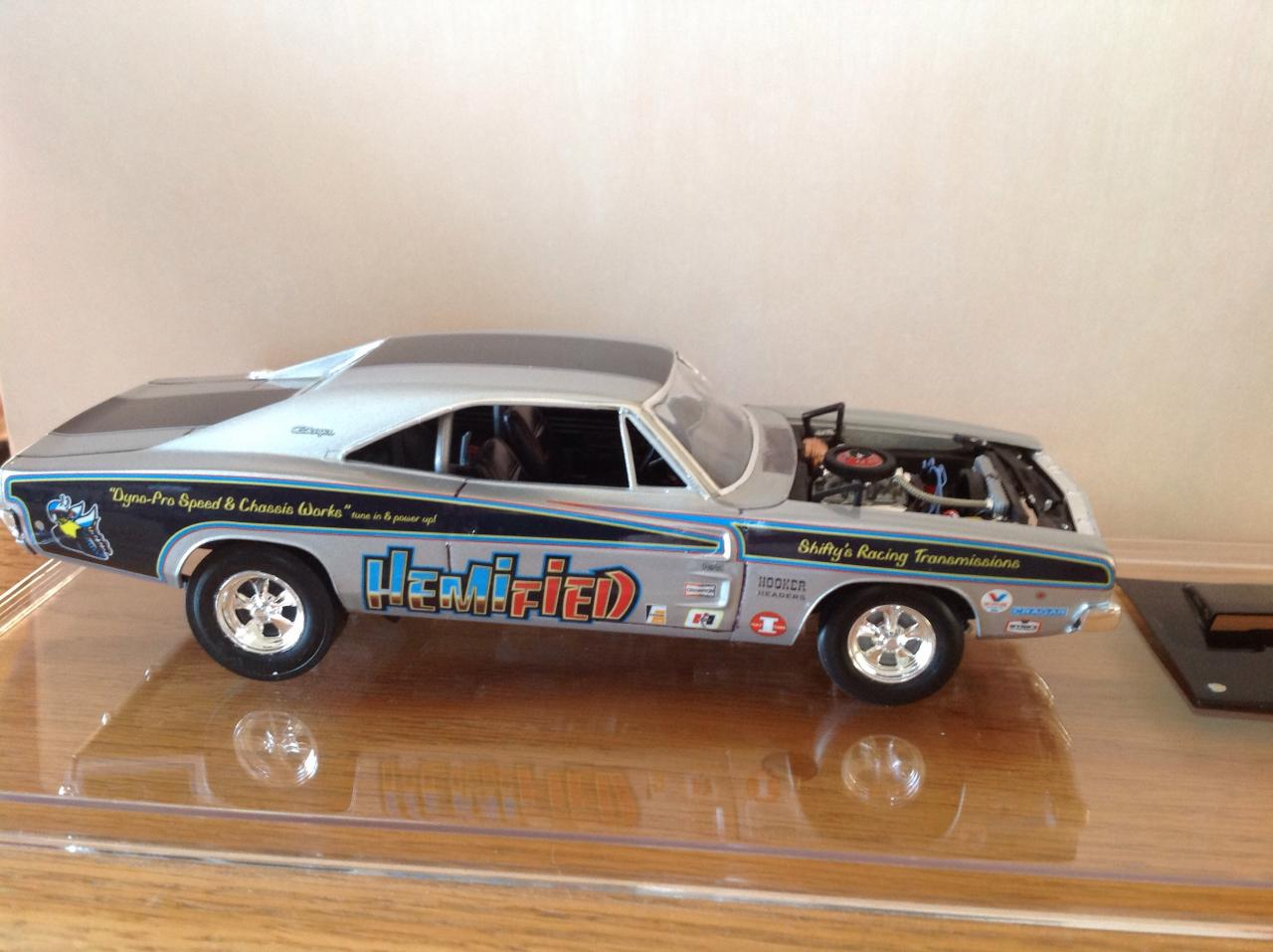 Quot Hemified Quot 68 Dodge Charger R T Drag Racing Models