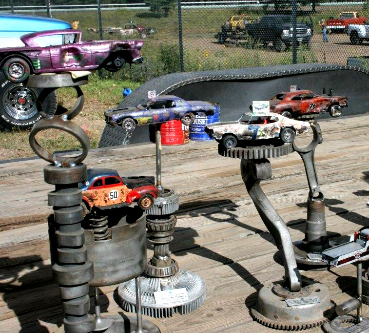 Building Demolition Derby Car : Anybody build them general model cars magazine forum
