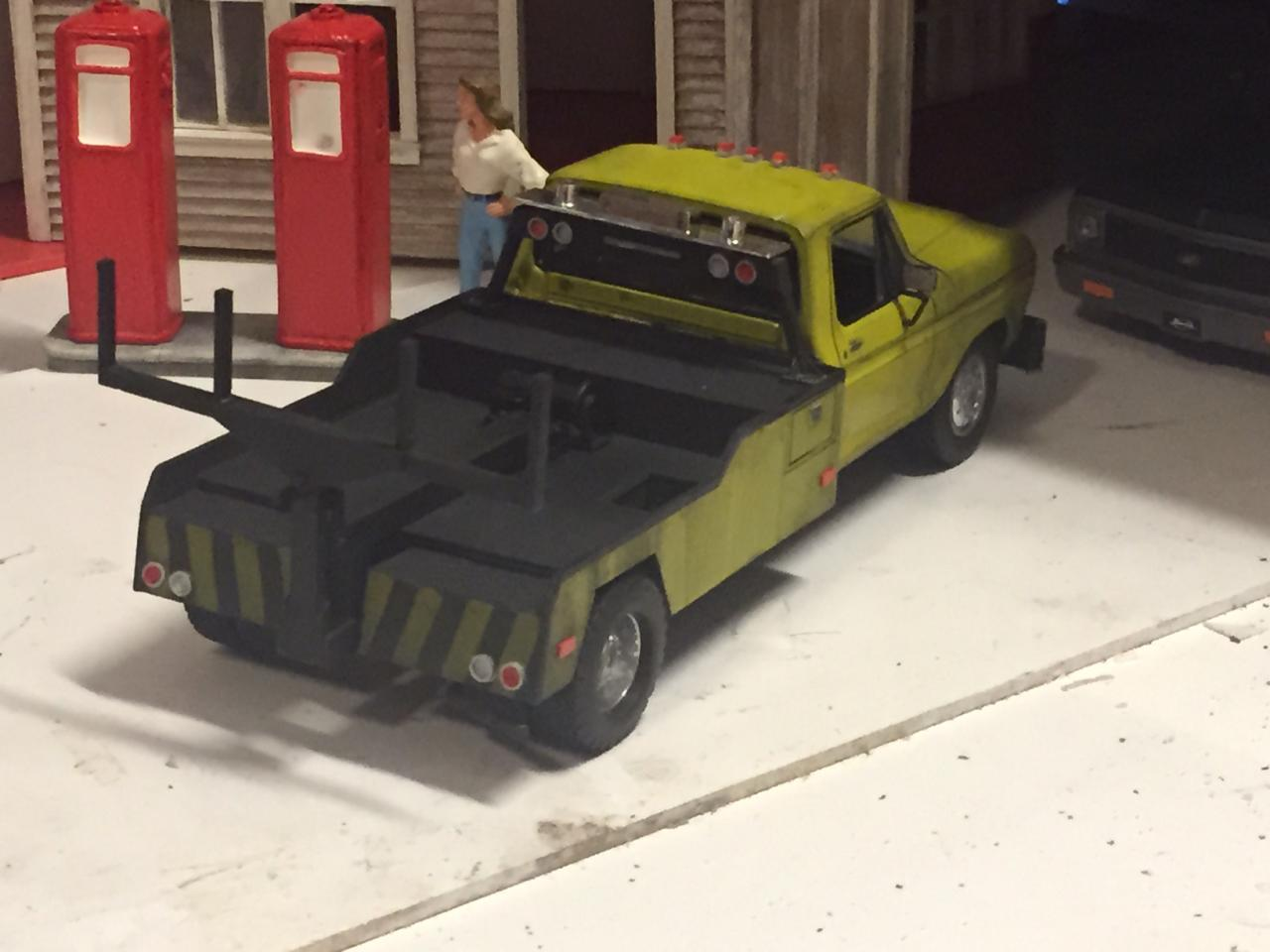 Cooter S Tow Truck Dukes Of Hazzard On The Workbench