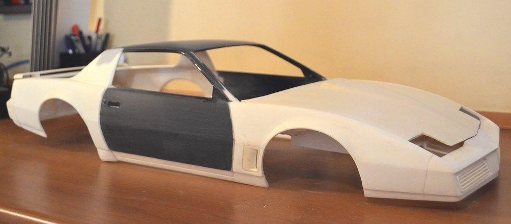 1982 firebird conversion kit for monogram camaro 1  8 - car aftermarket    resin