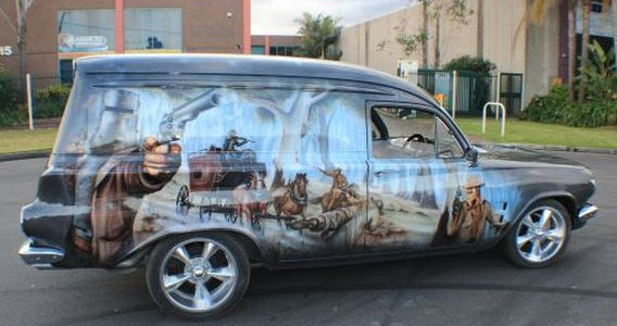 Feedback for new range of decals car aftermarket for Airbrush car mural