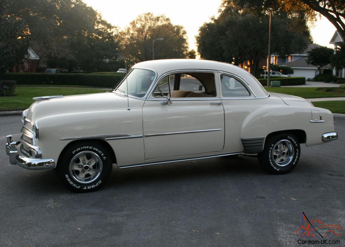 1951 Chevy Business Coupe Car Aftermarket Resin