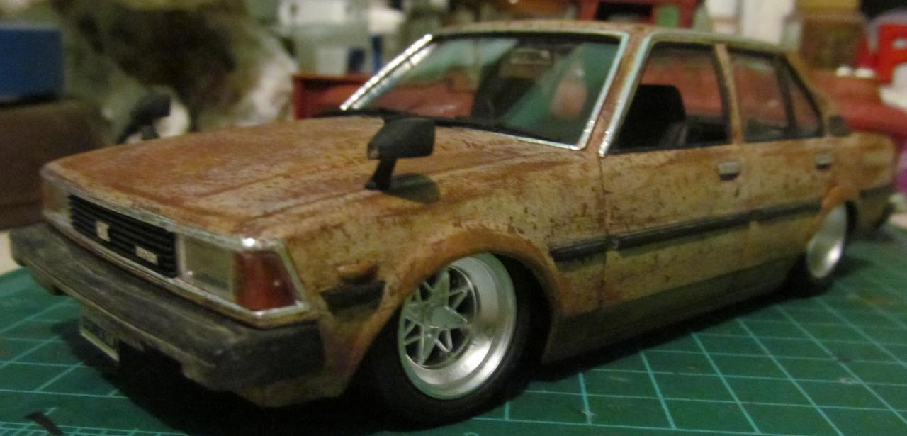 The little rat from Japan, 80´s Toyota Corolla - Under Glass - Model