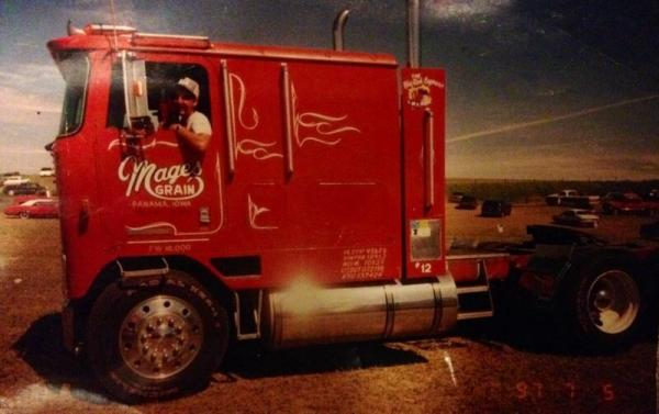 Cabover Kid's Photo