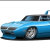 Quick Build 1970 Superbird. - last post by Custom Hearse