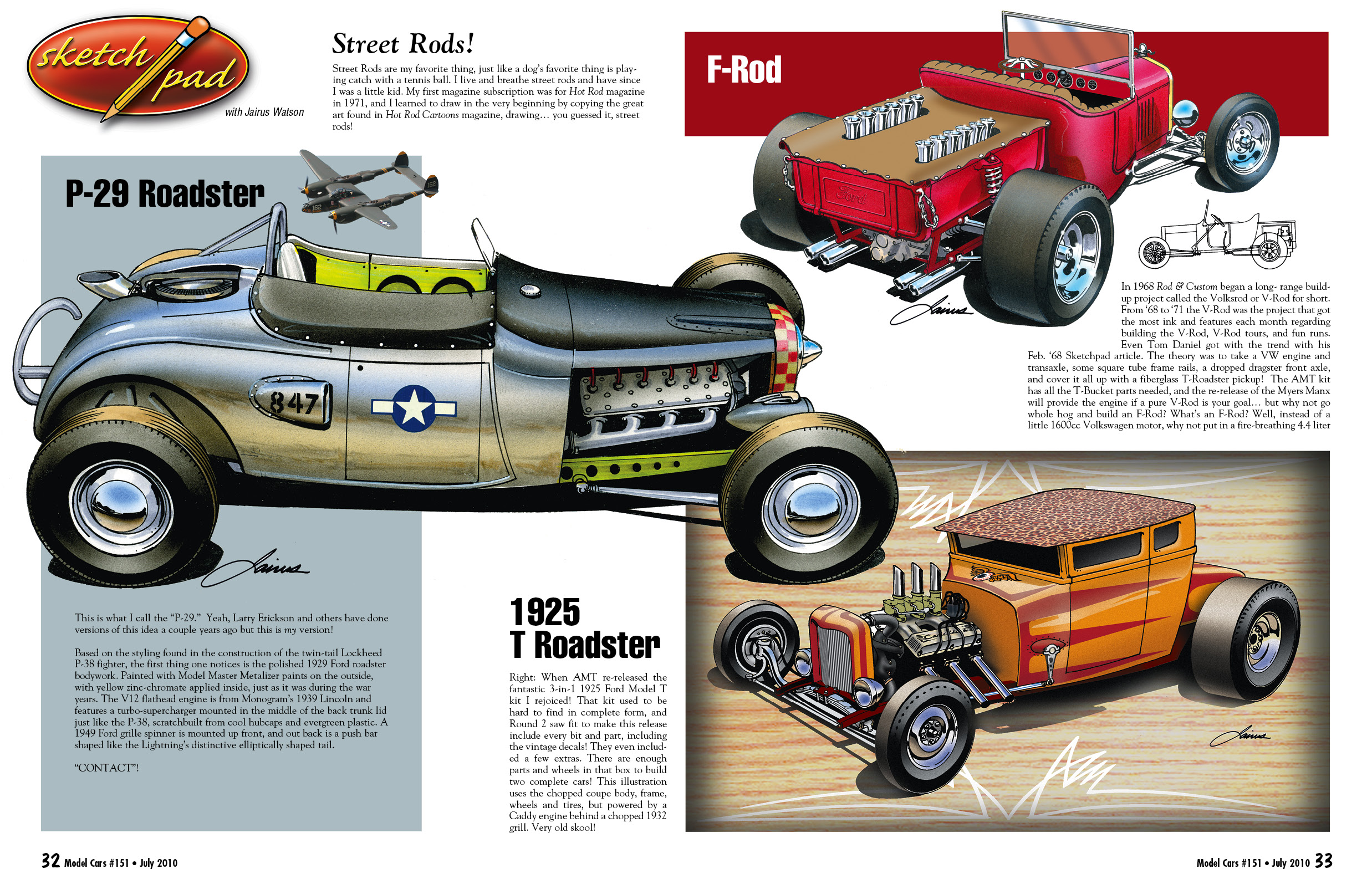 SketchPad Archives - Page 2 of 2 - Model Cars Magazine