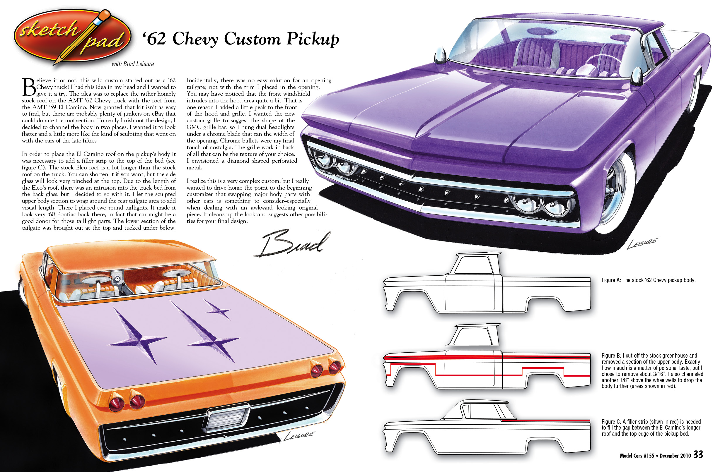 Sketchpad 155 model cars magazine for Sketchpad com