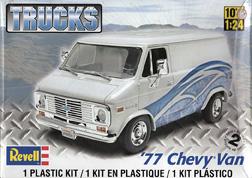 77 chevy van