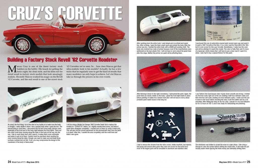 Marcos Cruz's '62 Corvette