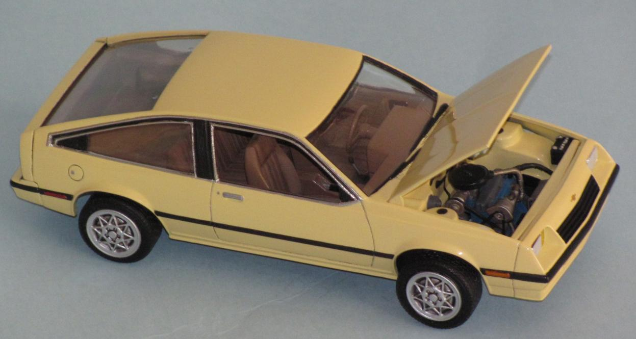 Cavalier 1982 chevrolet cavalier : New for '82! It's the Chevy Cavalier! - Under Glass - Model Cars ...