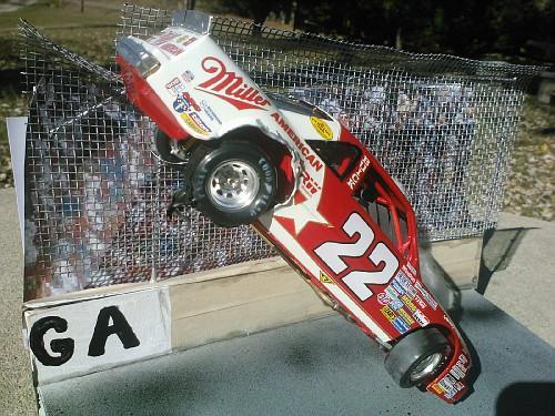 Bobby Allison 1987 Talladega crash - NASCAR - Model Cars ...
