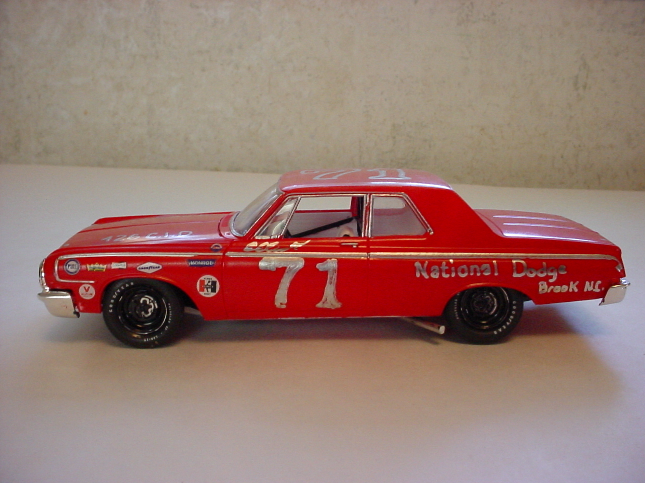 64 Dodge (fictional) stock car. - NASCAR - Model Cars ...