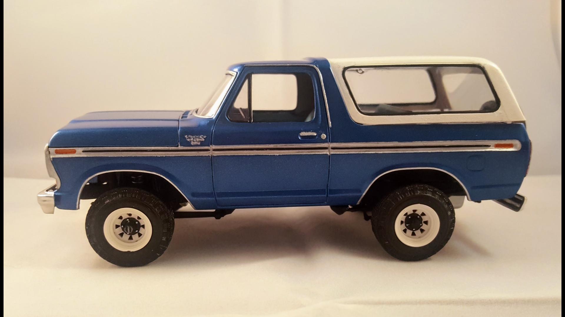 AMT 1979 Ford Bronco - Under Glass: Pickups, Vans, SUVs ...