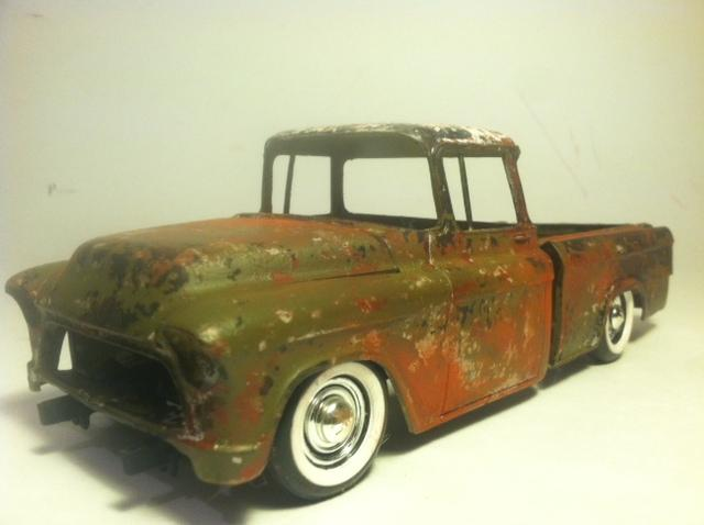 amt 55 chevy cameo - On the Workbench: Pickups, Vans, SUVs, Light Commercial - Model Cars ...