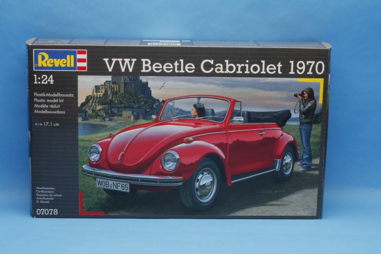 revell vw convertible